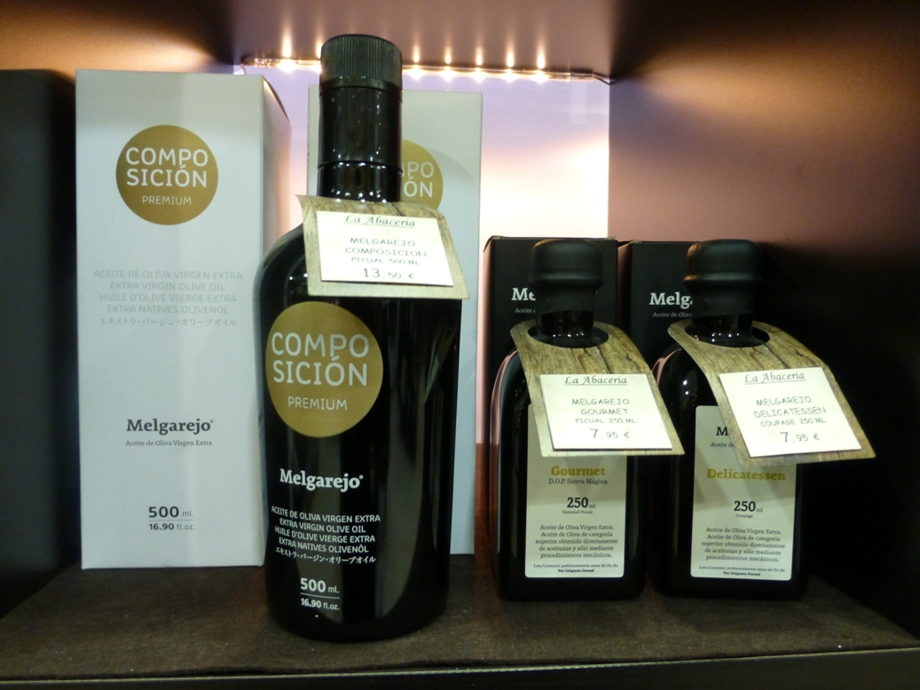 OleoTourJaen - envases para producto premium