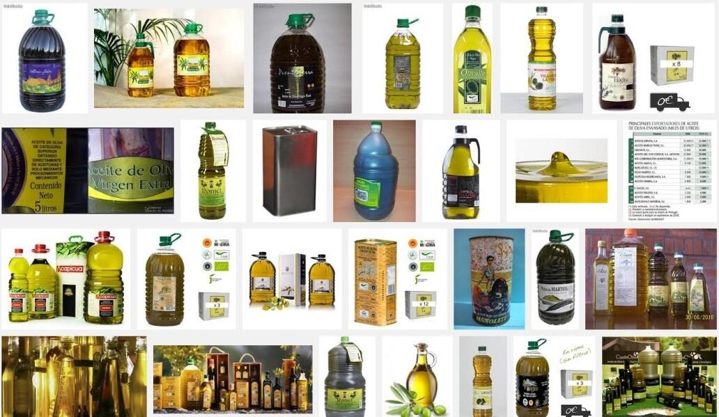 Botellas de aceite común = commodity