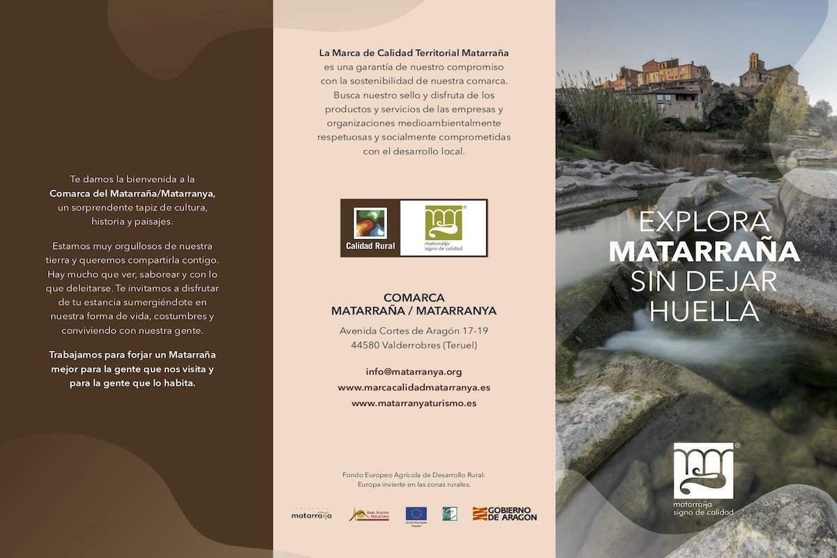 Trítpico turismo sostenible Matarranya