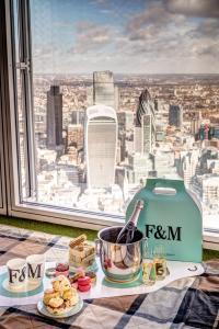 The View from The Shard and Fortnum & Mason launch exclusive Sky-High Tea packages for summer 2015 2